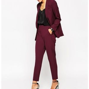 ASOS • Textured Trouser Pants
